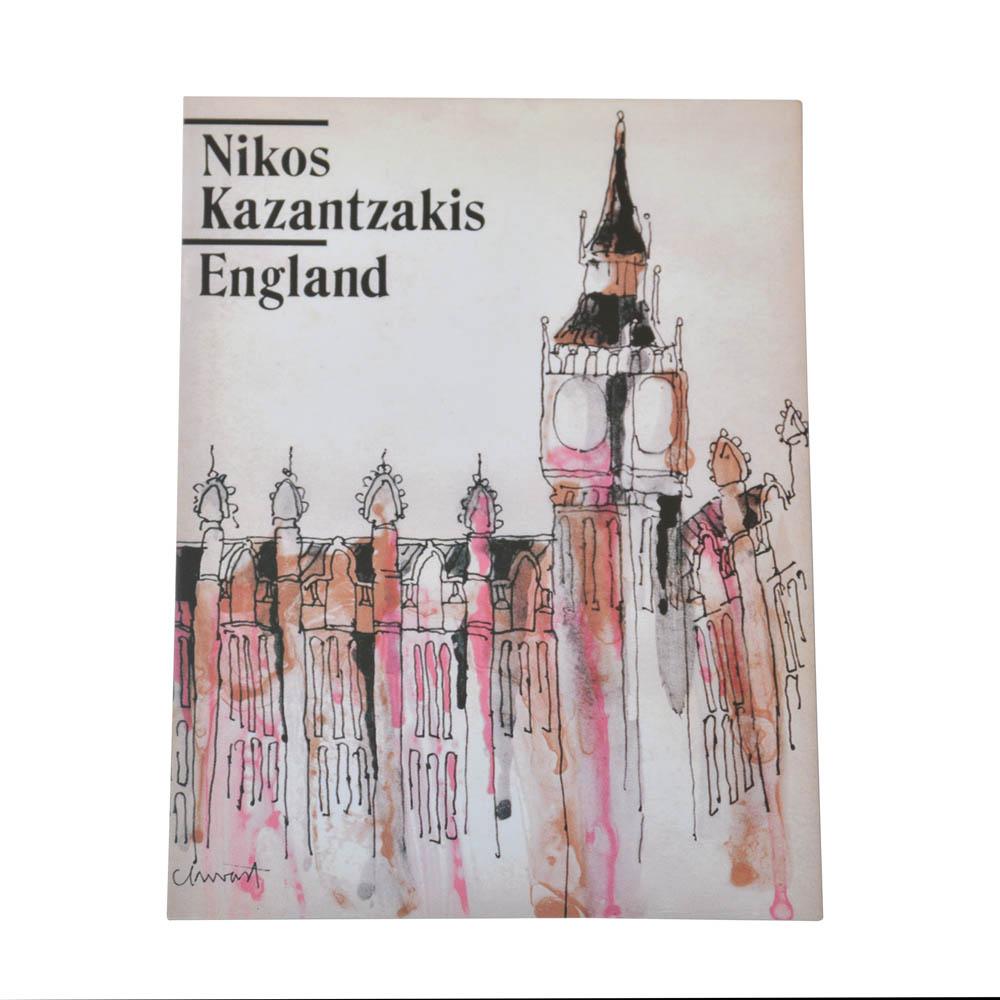 """Καρτ ποστάλ  """"Ταξιδεύοντας Αγγλία"""""""