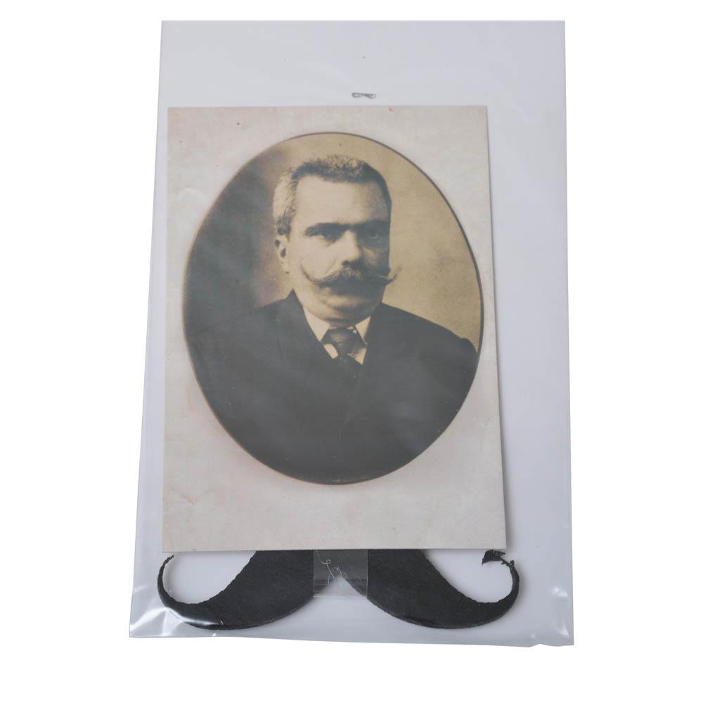 Καρτ ποστάλ Καπετάν Μιχάλης - μουστάκι