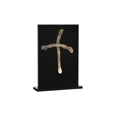 Χειροποίητος σταυρός ΜΝΚ σε πλέξιγκλας